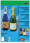 Etiquettes pour bouteille