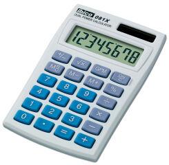 ibico Calculatrice de poche 081X, écran LCD à 8 chiffres