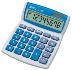 ibico Calculatrice de bureau 208X, écran LCD à 8 chiffres