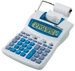 ibico Calculatrice imprimante de bureau 1214X semi-