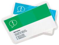 GBC pochettes à plastifier CardPouch pour cartes de visites