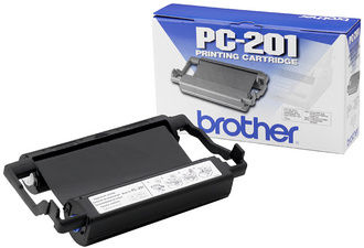 brother kit cartouche pour brother FAX-T102, noir