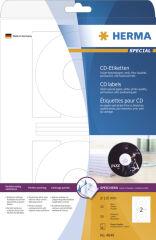 HERMA Etiquette CD/DVD Inkjet SPECIAL Maxi, diamètre: 116 mm