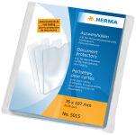 HERMA étui de poche, PP, 1 poche, 0,14 mm, transparent