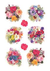 HERMA Autocollant de décoration 'fleurs'