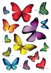 HERMA Stickers DECOR 'papillons'