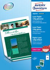 AVERY Zweckform Papier photo Colour Laser, A4, 120 g/m2