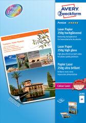 AVERY Zweckform Papier photo Premium Colour Laser, 250 g/m2
