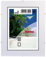 hama Support de photos sans cadre 'Clip-Fix', 21,0 x 29,7 cm