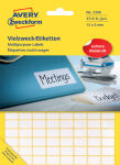 AVERY Zweckform étiquettes multi-usages, 18 x 12 mm, blanche