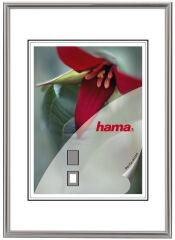 hama cadre photo 'décor Sevilla', 21,0 x 29,7 cm, argent mat