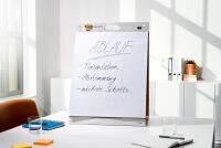 Post-it Meeting Chart Super Sticky, avec support, blanc