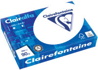 Clairalfa Papier multifonction, A4, 250 g/m2, extra blanc