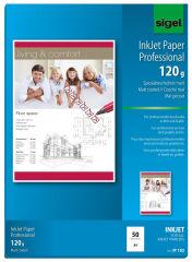 sigel Papier jet d'encre, A4, 160 g/m2, mat, extra blanc