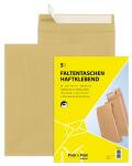 MAILmedia pochette à soufflets avec bande auto-adhésive, B4