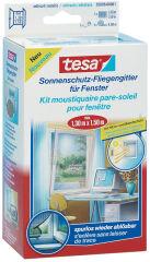 tesa Moustiquaire avec protection solaire pour fenêtre