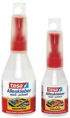 tesa Colle universelle, dans un flacon plastique, 90 g