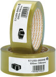NOPI Ruban adhésif d'emballage en PVC, 50 mm x 66 m, marron