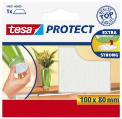 tesa Protect Patin en feutrine, diamètre: 18 mm, blanc