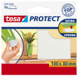 tesa Protect Patin en feutrine, diamètre: 26 mm, marron