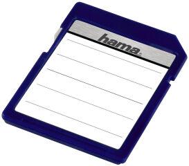 hama Etiquettes pour cartes mémoire, pour cartes SD / MMC,