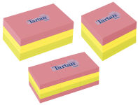 TARTAN bloc-notes repositionnable, 76 x 76 mm, Neon,
