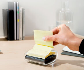 3M Post-it Notes adhésives Z-Notes, 127 x 76 mm, jaune
