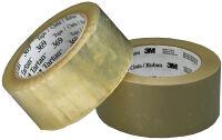 Tartan Ruban adhésif d'emballage 369, 50mm x 66m, marron