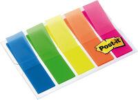Post-it Marque-pages Index, 11,9 x 43,2 mm, 5 couleurs