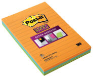 Post-it Bloc-note Super Sticky Notes, 125 x 200 mm
