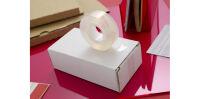 Scotch Ruban adhésif Crystal Clear 600, 19 mm x 10 m, carton