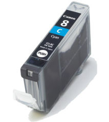 Original Encre pour canon Pixma IP4200/IP5200/IP5200R, cyan