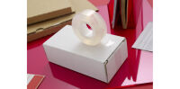 Scotch Cristal ruban adhésif Clear 600, 19 mm x 66 m, carton