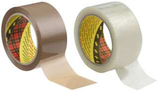 3M Scotch Ruban adhésif d'emballage 371, PP, 38 mm x 66 m