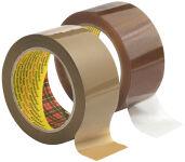 3M Scotch Ruban adhésif pour emballage 3707, PP, 50mm x 66m,
