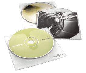 DURABLE Etui CD/DVD COVER pour 1 CD, PP, transparent