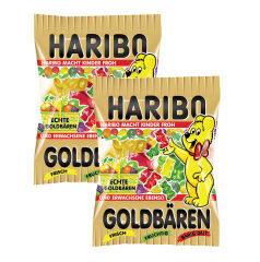 HARIBO Mini l'ours d'or, en carton