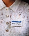 DURABLE Porte-badge à aimant, 75 x 40 mm, tranparent