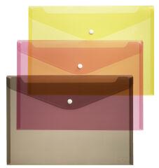 herlitz Pochette pour documents, A5, PP, blanc / transparent