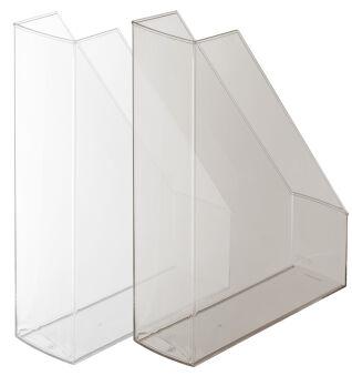 herlitz Porte-revues, A4, polystyrène, incolore transparent