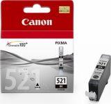 Original Encre pour canon PIXMA iP4600, CLI-521, noir photo