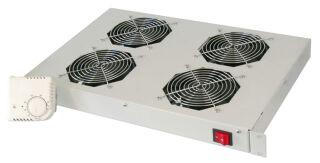 DIGITUS Unité de ventilation 19', 1U, 4x ventilateurs 120mm