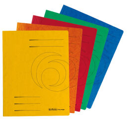herlitz Chemise à lamelles easyorga, A4, carton Colorspan