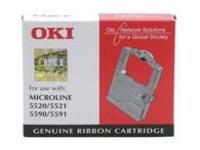 OKI Ruban pour OKI ML5520 Elite, nylon, noir