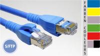 EC-net Câble patch Cat. 6 S/FTP, rouge, 1,5 m