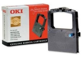 OKI Ruban pour OKI ML182/ML192/ML193/ML280, noir