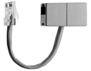 Telegärtner ISDN doubleur de connexion RJ45 8(4)mâle-2xRJ45