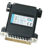 W&T isolant optique RS232 - 4 KV, 0 - 115.200 baud