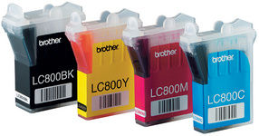 brother Encre pour brother DCP-J125/DCP-J315W, jaune