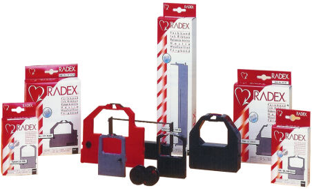 RADEX ruban pour OKI ML 390 FB, nylon, noir